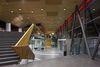 Innenansicht Stadthalle Balingen mit Eingangshalle / Foyer