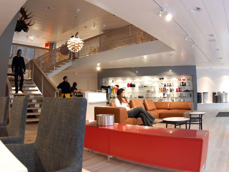 Boutique danoise for Boutique decoration interieur