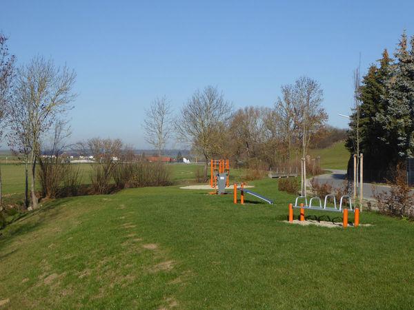 Der Bewegungsparcours mit Kneippanlage in Bayerbach bei Ergoldsbach