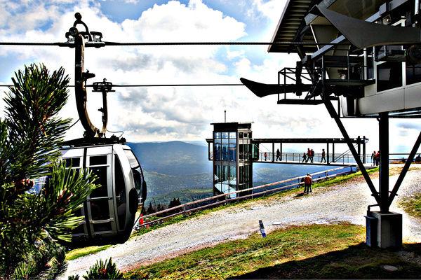 Die Arber Bergbahn im Sommer