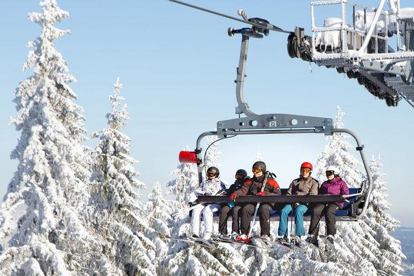 Ski-Freuden am Großen Arber