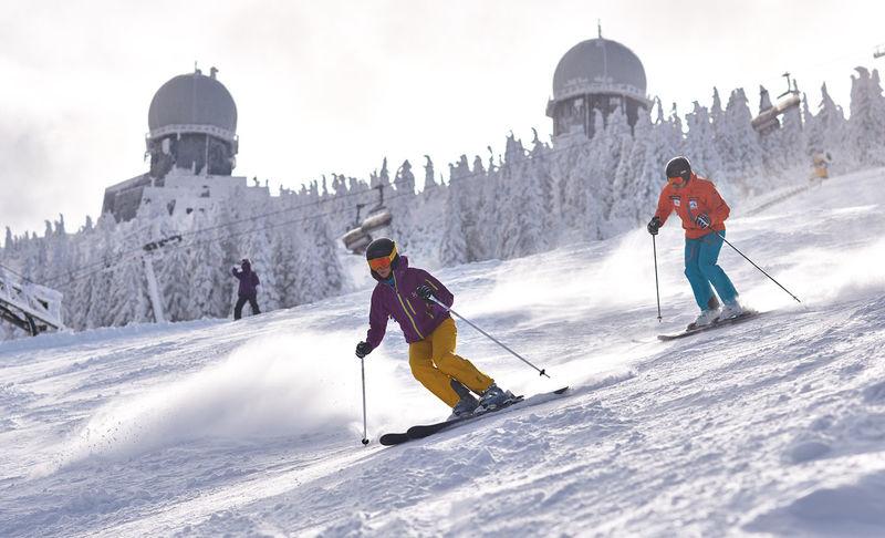 Traumhaft: Das Skigebiet Arber