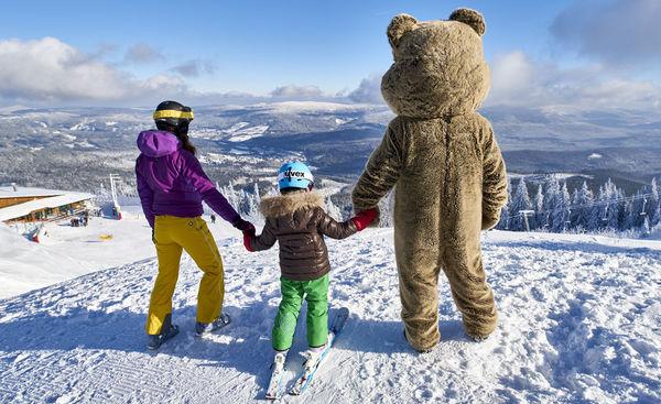 Skifahren für Groß und Klein im Skigebiet Arber