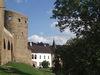 Blick auf die Burg Velhartice mit Renaissance-Schloss