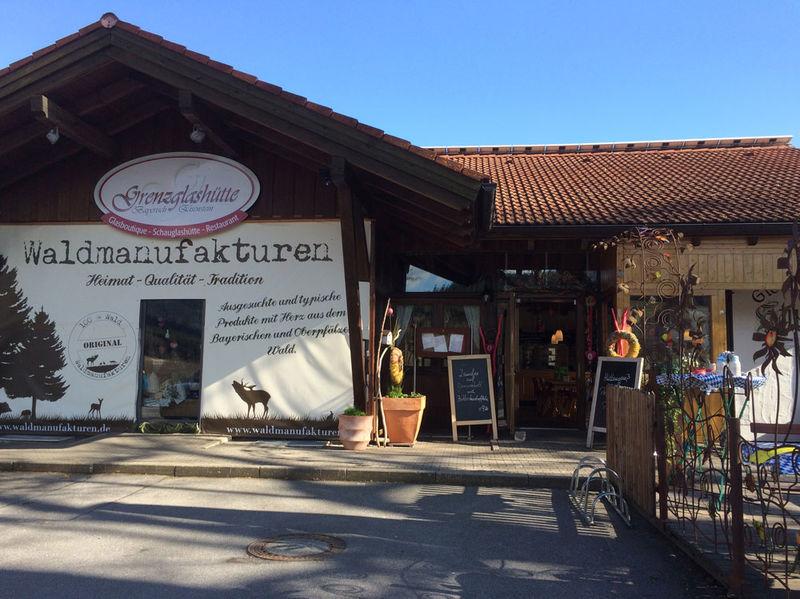 Regional-Laden der Waldmanufakturen in der Grenzglashütte in Bayerisch Eisenstein