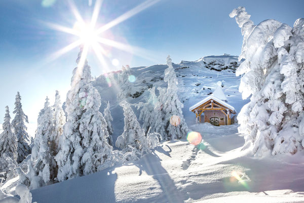 Wintersportgebiet  Großer Arber - Eck - Silberberg
