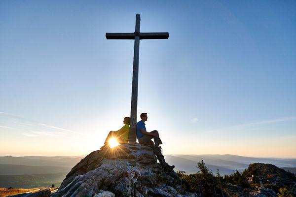 Großer Arber: Den Gipfel erreicht