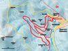 Streckenverlauf der Hohenzollernloipe in Bayerisch Eisenstein