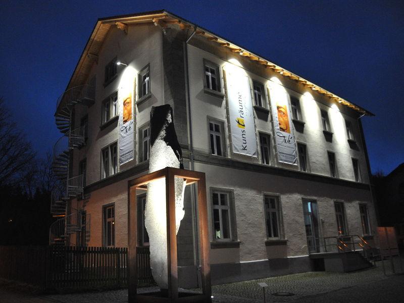 Blick auf die Galerie KUNSTRÄUME GRENZENLOS in Bayerisch Eisenstein