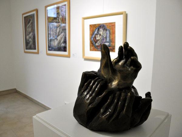 Kunstwerk von Josef Schneck in den KUNSTRÄUMEN GRENZENLOS in Bayerisch Eisenstein