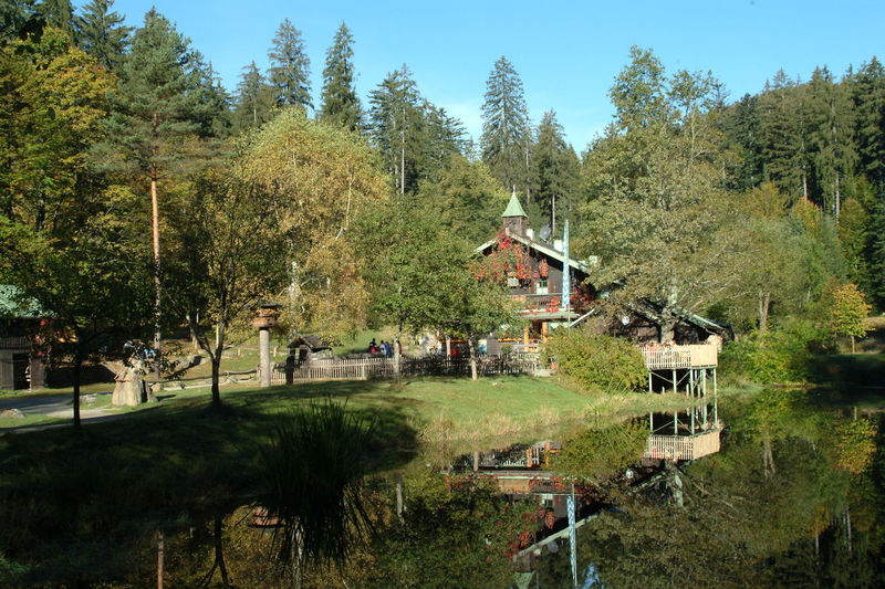 Die Trifterklause Schwellhäusl mitten im Nationalpark Bayerischer Wald