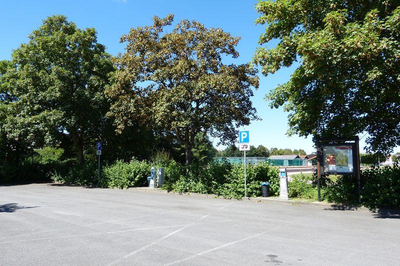 Stellplatz am Sportplatz