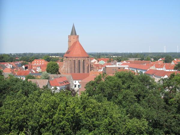 Beeskow von oben, Foto: Ziesig