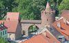 Blick auf die historische Altstadt von Beeskow