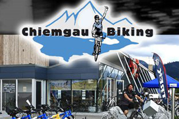Chiemgau Biking Bernau am Chiemsee.