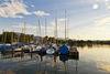 Segelboote am Chiemsee