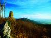 Traumhafte Fernsicht bietet der Aussichtsturm auf dem Hirschenstein im Bayerischen Wald
