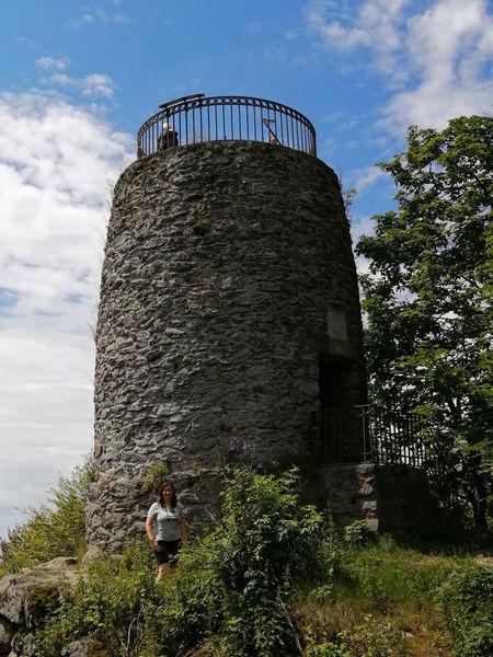 Vom Aussichtsturm Hirschenstein hat man einen wunderbaren Panoramablick