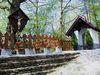 Fatimakapelle mit Totenbretter bei Bernried im Bayerischen Wald