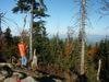Wandererlebnis auf dem Klausenstein bei Bernried im Bayerischen Wald