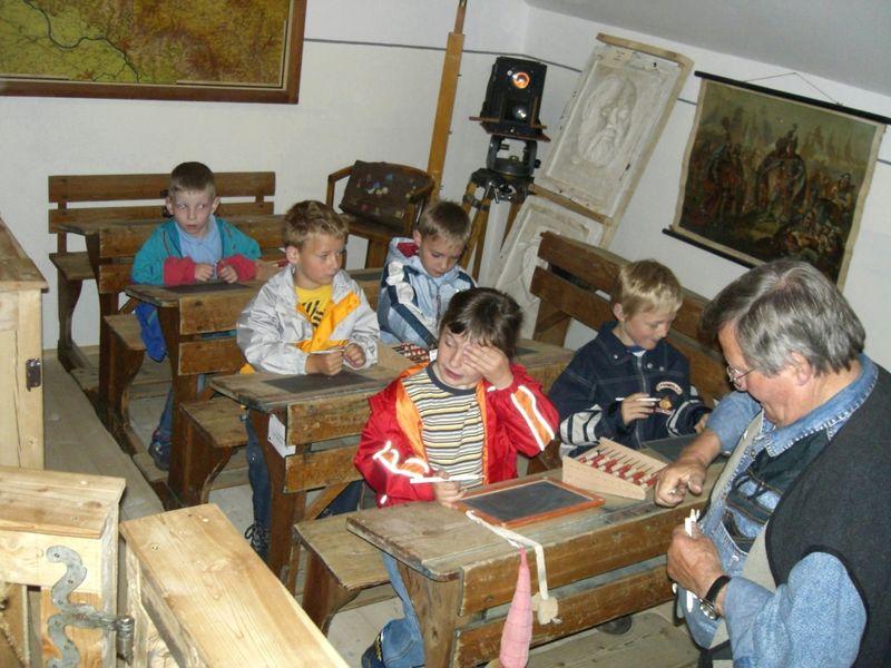 Familiennachmittag im Museumsstadl in Bernried im Bayerischen Wald