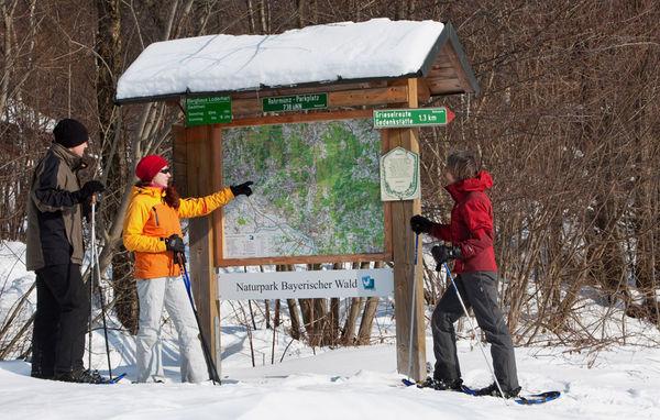 Ein tolles Wintererlebnis: Schneeschuhwandern im Bayerischen Wald