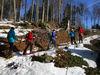 Schneeschuhwandern in der Ferienregion Hirschenstein