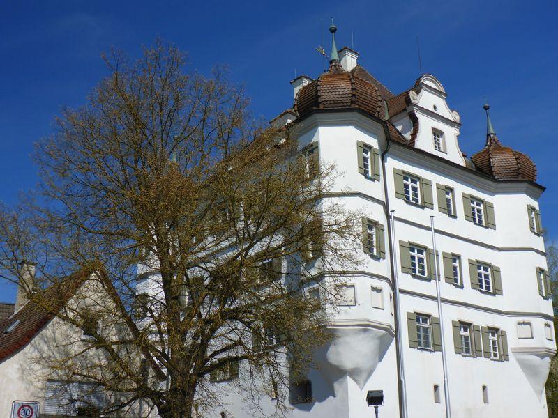 Schloss in Bernstadt