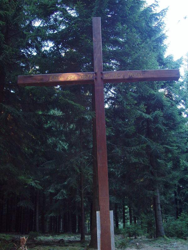 Gipfelkreuz auf dem Bastenberg