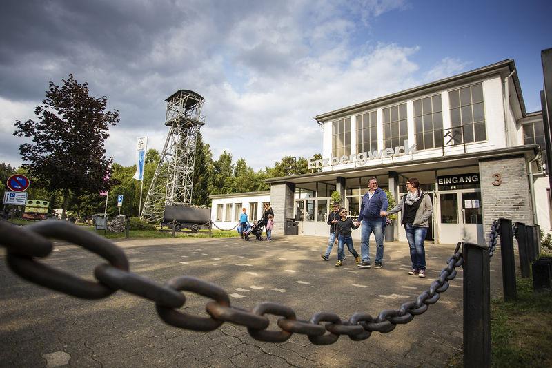 Eingang Sauerländer Besucherbergwerk