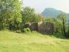 Die Burg Strahlegg in Betlis