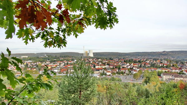 Blick vom Monte Barbara auf Bexbach