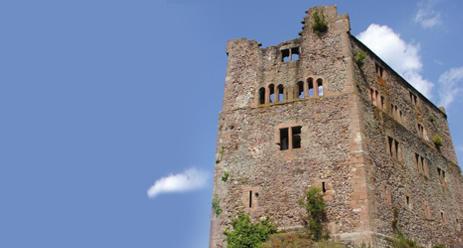 Überreste einer ehrwürdigen Burg