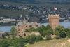 Burg Klopp aus der Ferne