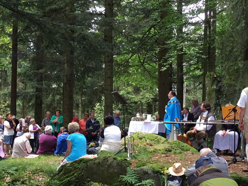 Traditionelle Geißkopf-Kirchweih: Bergmesse
