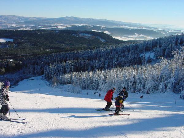 Winterspaß pur auf dem Geisskopf bei Bischofsmais im Bayerischen Wald