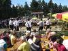Unterhaltung mit den Schuhplattlern des Trachtenvereins bei der Geisskopf-Kirchweih