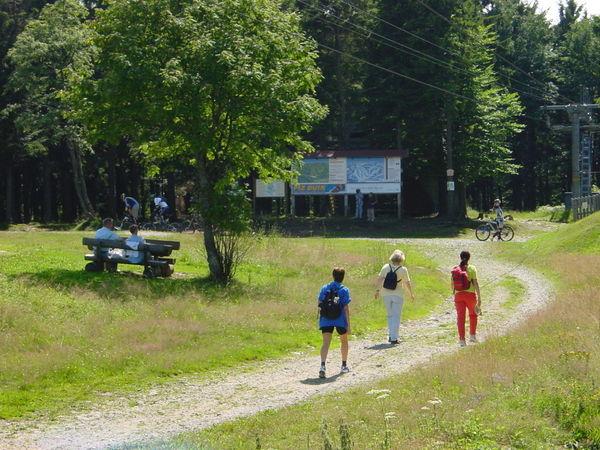 Wandererlebnis rund um den Geisskopf bei Bischofsmais im Bayerischen Wald