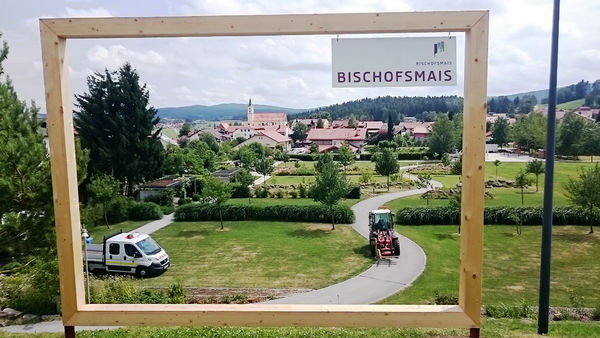 Ausblick Kurpark Bischofsmais