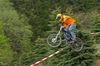Downhill im Bikepark am Geißkopf