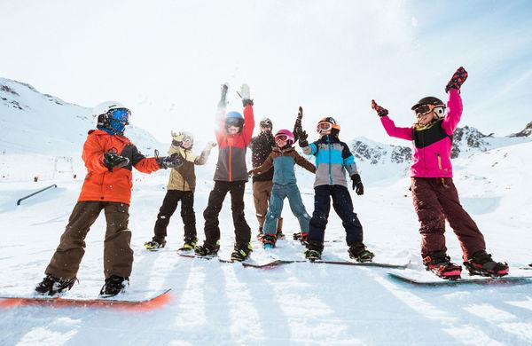Shred Kids: Snowboard Treffpunkt für Kinder von 5 bis 13 Jahren
