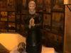 Die Hirmo-Figur in der Einsiedelei-Kapelle der Wallfahrtsstätte St. Hermann bei Bischofsmais