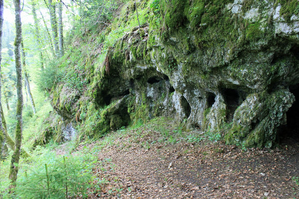 """begehbare Höhle """"Hohler Fels"""""""