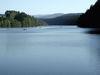 Blick auf den Blaibacher See im Naturpark Oberer Bayerischer Wald