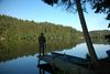 Entspannung bei Angeln am Blaibacher See