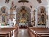 Altarbereich in der Pfarrkirche in Blaibach im Naturpark Oberer Bayerischer Wald