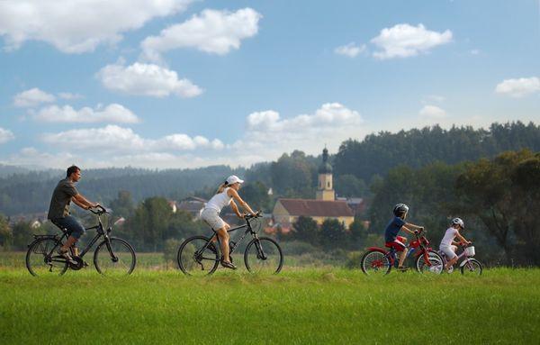 E-Biketouren durch Blaibach