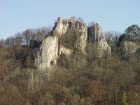 Burgruine Rusenschloss und Große Grotte