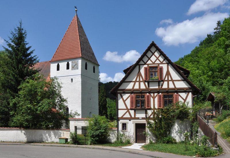 Kirche Lautern 'Unserer Lieben Frau' in Blaustein-Oberherrlingen