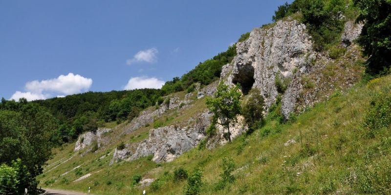 Felsen im Kleinen Lautertal